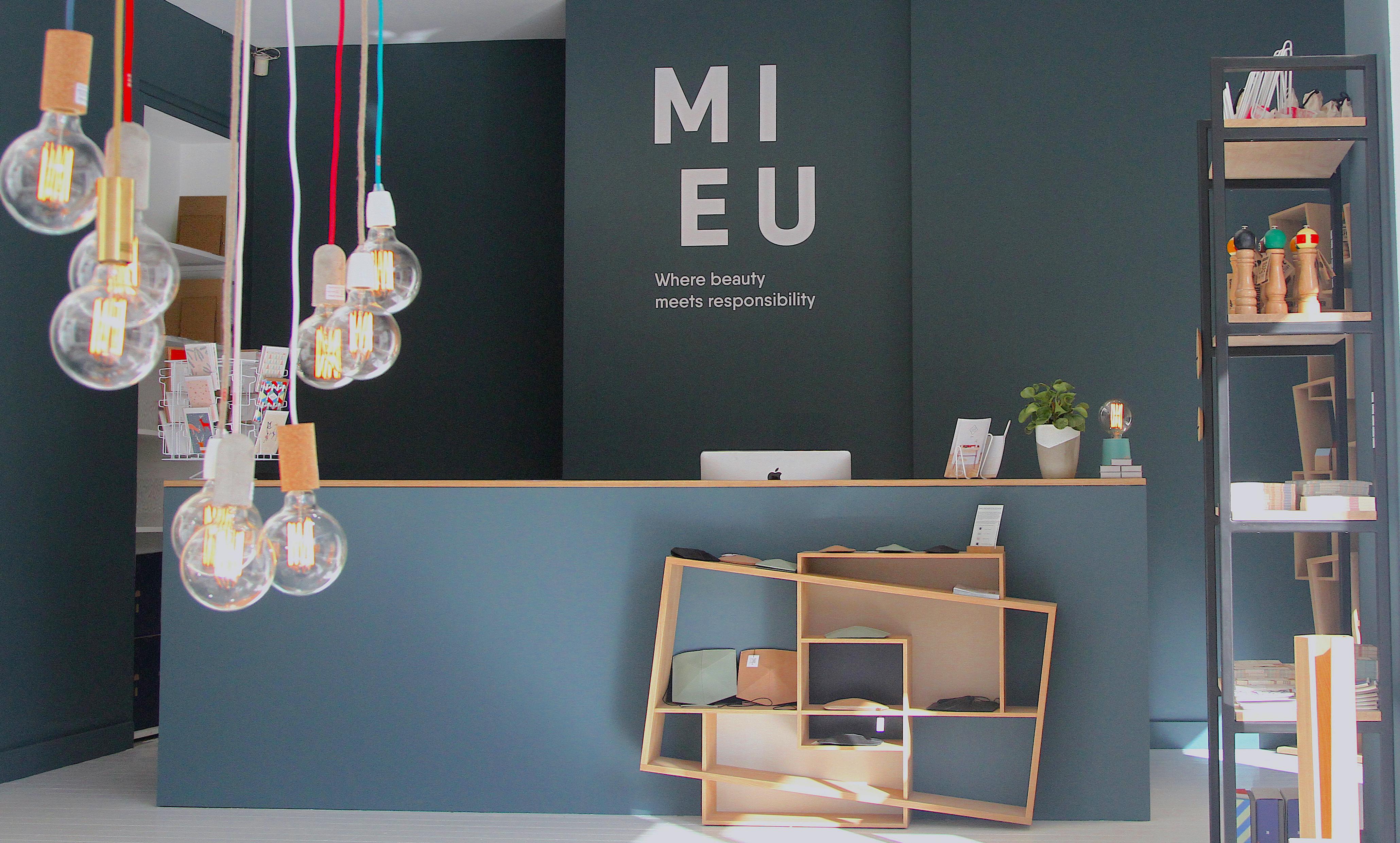 """M I E U : Concept store ameublement et décoration  """"Made in Europe"""" ouvre ses portes à Bruxelles. Retail Design signé EY"""
